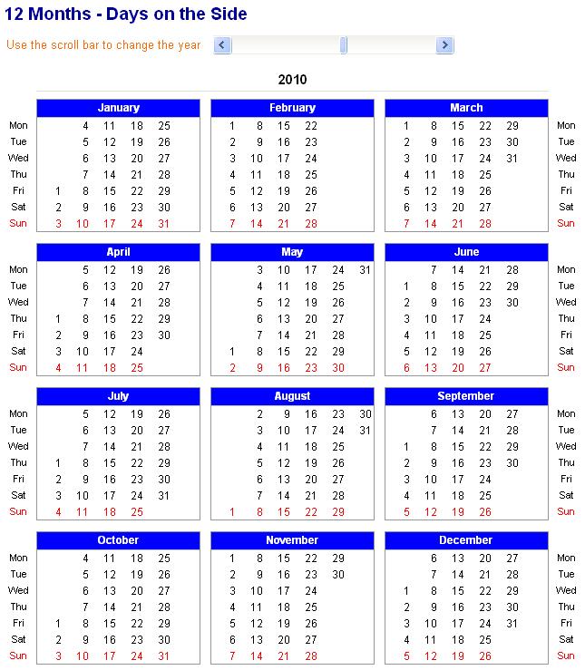 Printable 2015 12 Month Calendar | 2015 Blank Calendar Free Print